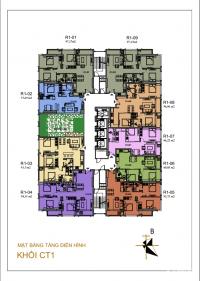 Cần bán gấp CC Sunshine Tây Hồ 2002-R1 (58,41m2) và 1609-R2 (114,6m2) 37 tr/m2.