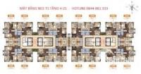 Bán căn hộ chung cư cao cấp Ngoại Giao Đoàn, 95 m2, 3PN, LH: 0363 207 431