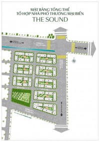 The Sound Thanh Long Bay - nhà phố thương mại biển 2 mặt tiền giá 4.9 tỷ/căn.