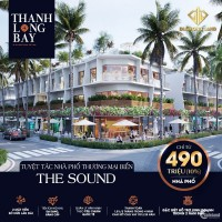 Nhà Phố Thương Mại 2 mặt tiền biển ( 1 trệt 2 lầu 1 sân ) - Thanh Long Bay