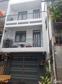 Nhà mới 4×10m 2MT Hẻm 6m 2 lầu Giá 5ty7 TL