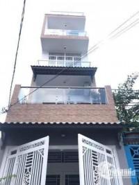 Bán nhà MTNB khu họ LÊ đường Lê Sao F Phú Thạnh Tân Phú. 3.5x18m trệt 3 lầu ST