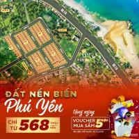 Chỉ 568tr sở hữu đất nền đô thị biển Phú Yên - Sổ đỏ trao tay tặng vàng 9999