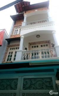 Bán nhà mới 3 lầu đẹp hẻm 482 Lê Quang Định, P.11, Bình Thạnh, 5x17.5m, hướng TN