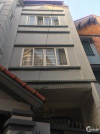 Hot! Bán nhà 4 tầng Nguyễn An Ninh, 37m2 giá 3 tỷ, ngõ thẳng xe ba gác.