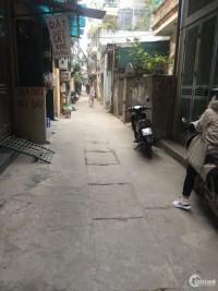 Bán nhà ngõ thông Trương Định, Bạch Mai 3 mặt thoáng DT 39m2.