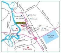 New life city Long Thành tìm năng vượt trội – Mặt tiền kinh doanh 13,5 tr/m2