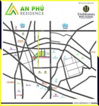 An Phú Residence vị trí vàng Thuận An, phố shophouse trung tâm Thuận An 76m2