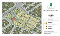 Mở bán đất nền Khu dân cư đô thị mới Bà Rịa Residence giáp 3 mặt tiền