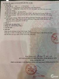 Bán đất 2 mặt tiền khu vực Long Nguyên, Bàu Bàng, diện tích: 38.890m2, Giá 29 tỷ