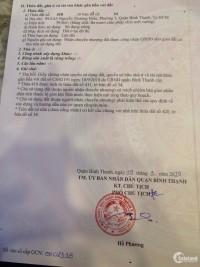 Bán lô đất 99/2A3 Nguyên Thượng Hiền, P5, Bình Thanh DT: 4x10m hướng Nam