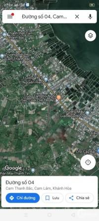 Bán Đất Cam Lâm gần Sân Bay Cam Ranh - sổ hồng riêng giá 1.7 triệu/m