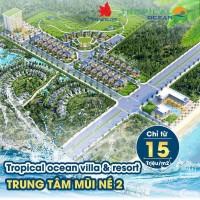 Siêu dự án view biển Tropical Ocean Villa & Resort chỉ 15tr/m2, sở hữu vĩnh viễn