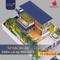 Bán đất nền biệt thự Phan Thiết Tropical ocean villa 15tr/m2, pháp lý hoàn thiện