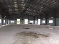 Cho thuê đất, kho xưởng DT 2500m2 KCN Từ Liêm, Nam Từ Liêm, Hà Nội.
