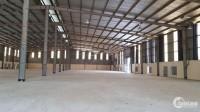 Cho thuê kho xưởng Khu công nghiệp Phố Nối A. Diện tích nhà xưởng: 3.200m2.
