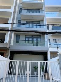 Nhà mới xây 4 tầng 5PN cạnh trường Nguyễn Hữu Thọ 62 Lâm Văn Bền, Quận 7