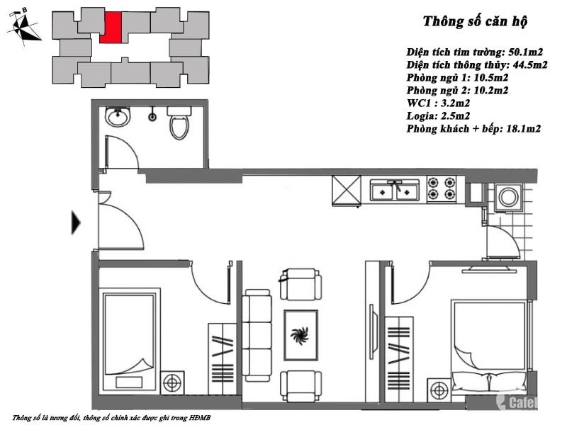 Bán căn 2PN giá 670 triệu full nội thất tại Mipec Vew City hà đông.lh 0982 301 3
