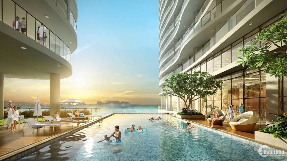 Bán chung cư 2PN, view biển, full nội thất tại Bãi Cháy, Hạ Long