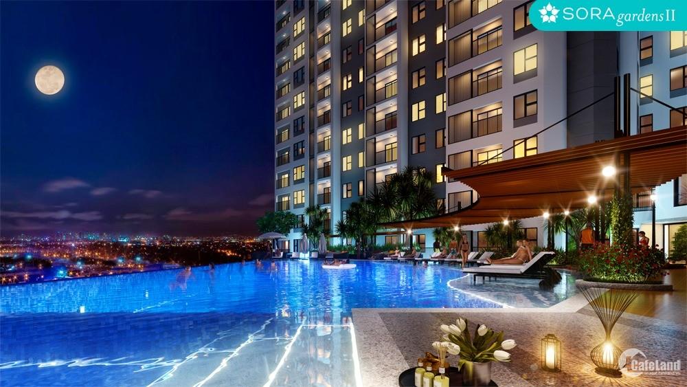 CĂN HỘ HẠNG SANG SORA gardens II với CHẤT LƯỢNG NHẬT BẢN đầu tiên BD, 0392842627