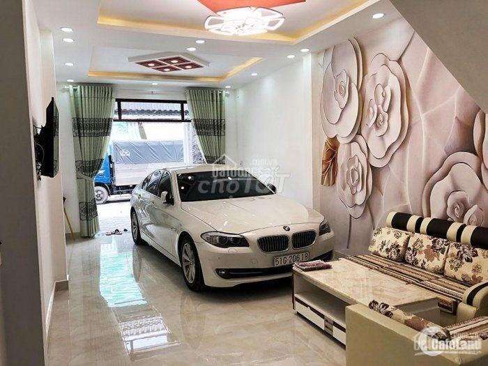 Nhà 2 lầu mới Tân Phú Đầm Sen HXH 12m dt 4x17m2