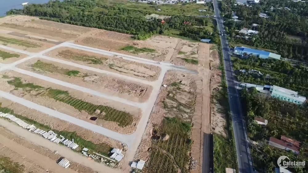 Mở bán nền mặt tiền đường Nam Sông Hậu dự án Vạn Phát Sông Hậu
