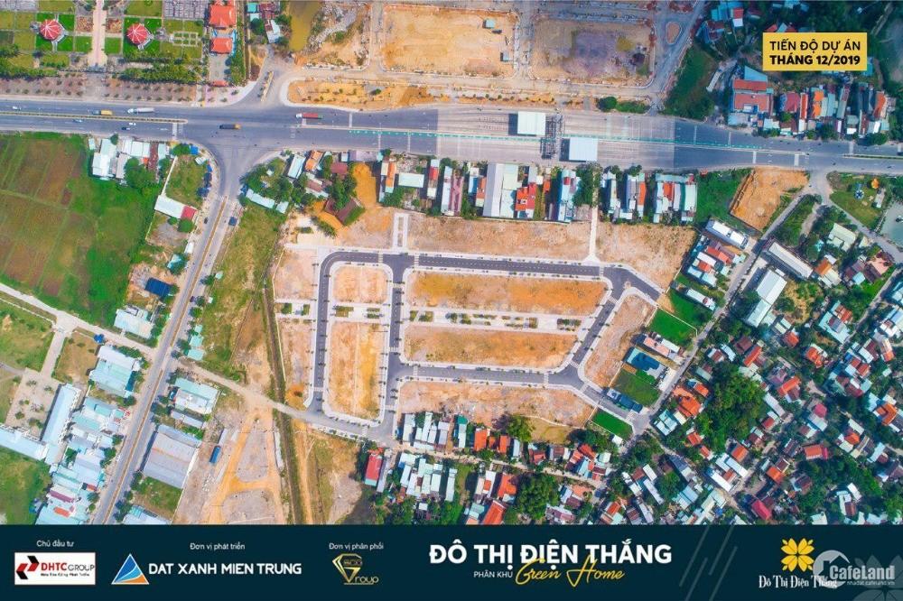 Bán đất Trạm Thu Phí Điện Bàn. Đã có sổ. Hỗ trợ vay 50%. Liên hệ: 0799407299