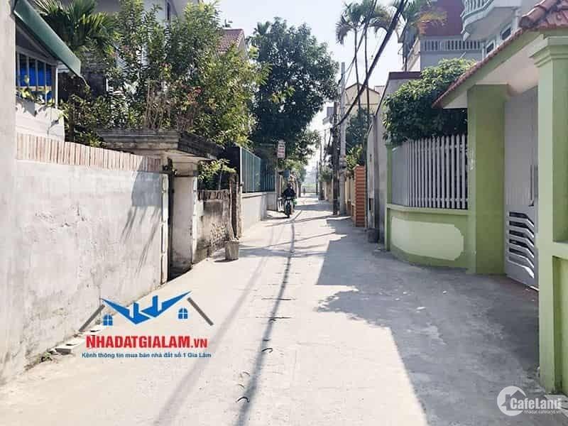 Bán đất xã Đông Dư, huyện Gia Lâm. DT 80m2, chia đôi được, đường vào ô tô, hướng