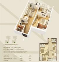 Cần bán căn hộ Mandarin tân mai 83m –giá 2ty250 0973952286