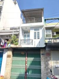 Cho thuê nhà 2 lầu mặt tiền đường Đặng Thúc Liêng Phường 4 Quận 8 - DT: 3.5x15m