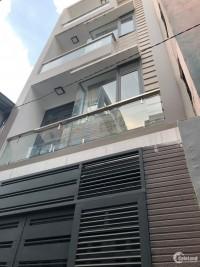 Bán gấp trả nợ MT thụt HXH Trần Bình Trọng, Bình Thạnh 54m2,4 lầu,5pn.