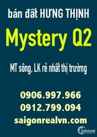 Bán đất SaiGon Mystery Hưng Thịnh Q2, ngay cầu Thời Đại Thạnh Mỹ Lợi, MT bát nàn