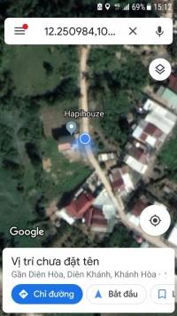 Chính chủ bán đất thổ cư 184m2 (7.5 x 24) trung tâm xã Diên Hòa, Diên Khánh