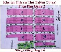 Bán đất KDC Nam Rạch Chiếc ngay góc đường Đỗ Xuân Hợp và Song Hành