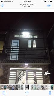 Nhà riêng mới, chinh chủ, 1 trệt, 1 lầu (2 PN), 6tr, miễn môi giới.