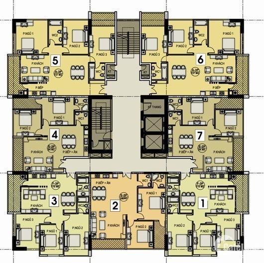 Chính chủ cần bán nhanh căn góc đẹp nhất , tầng 21 toà AZ Lâm Viên, Cầu Giấy