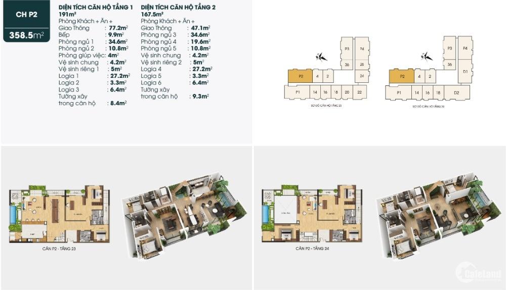 Căn hộ Duplex cao cấp cho đại gia đình tại Long Biên - Dự án TSG Lotus Sài Đồng