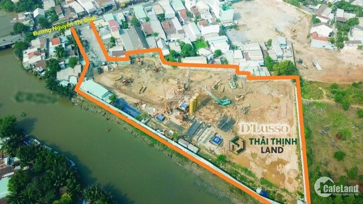khai ngay đường Song Hành cao tốc - Nguyễn Thị Định, D'lusso căn hộ cao cấp full