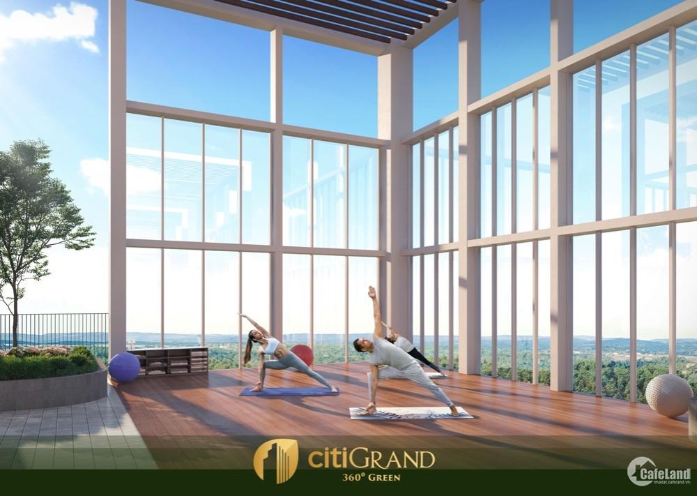 Căn hộ Citigrand Q.2, chỉ từ 1,9 tỷ/căn, thanh toán nhẹ nhàng, tiện ích đong đầy