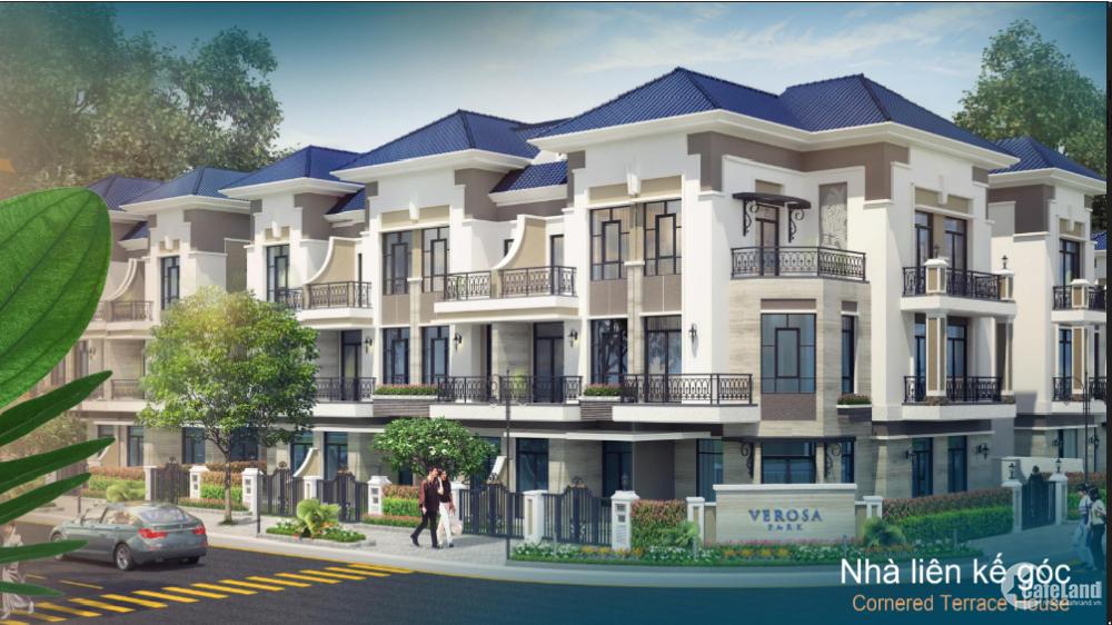 3ty sở hữu Nhà phố 100m2 - 1 trệt 2 lầu - khu Compound Khang Điền