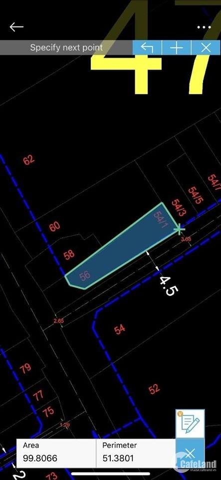 Bán nhà phố tiện kinh doanh 58 Trần Bá Giao P5 GV, 100m2 cấp 4, đang cho thuê 9t