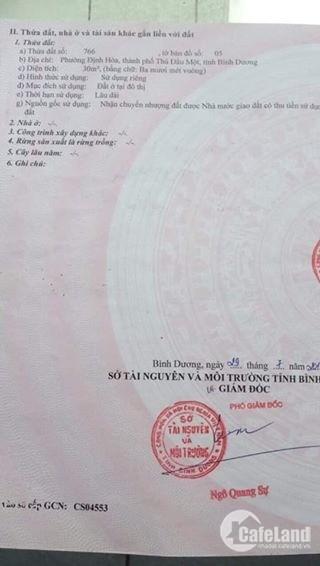 Vỡ nợ Bán nhanh nhà mặt tiền DT 741 gần Cổng Xanh 130m2 Giá: 900tr
