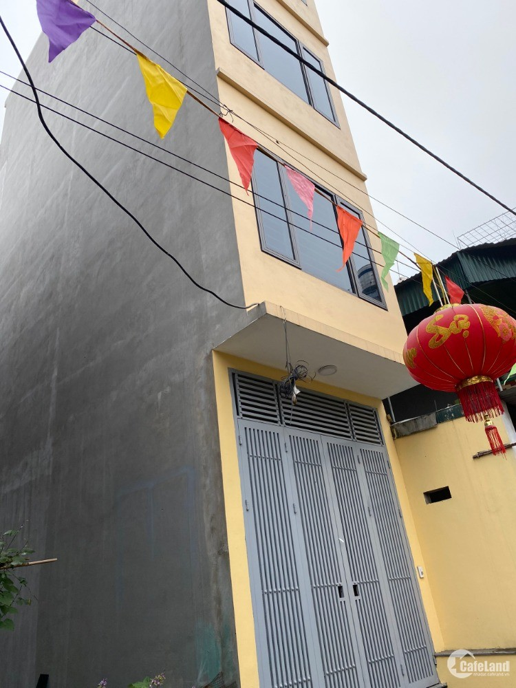 Bán Nhà Mới Xây 5 Tầng tại Phú Lãm Hà Đông
