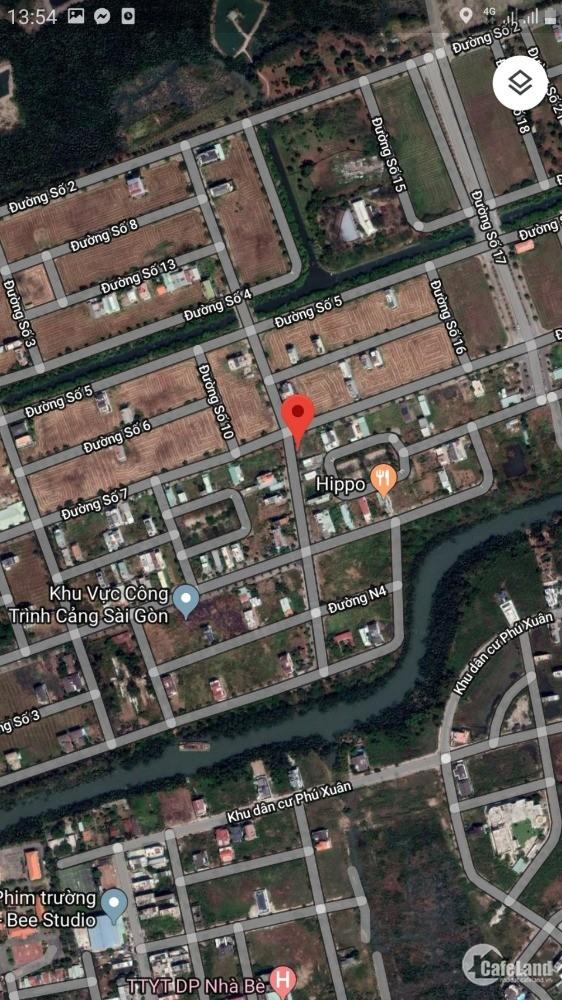 Cho Thuê Biệt thự KDC Phú Xuân Vạn Phát Hưng 230m²