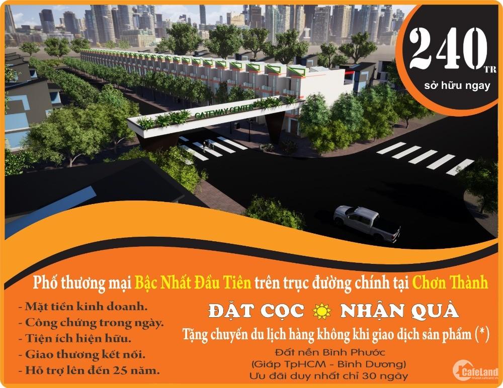Bán nhanh vài lô đất ngay trung tâm thị trấn Chơn Thành, Bình Phước