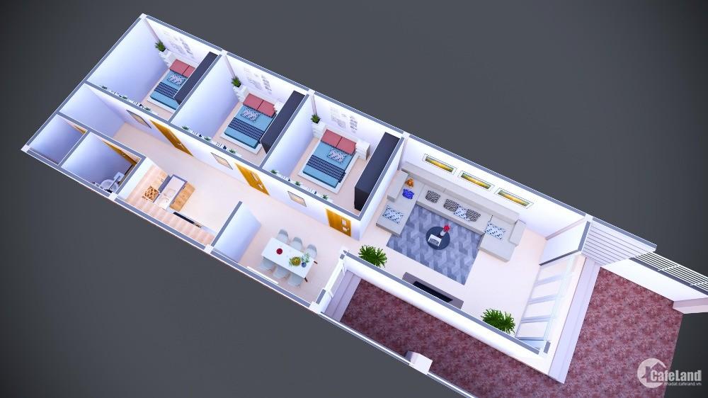 Bán nhà mới xây 100%, TT. Chơn Thành, Bình Phước, giá đầu tư an cư lâu dài