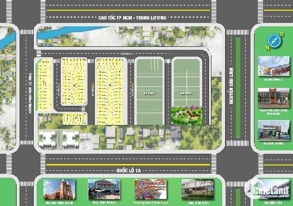Dự án đất Bình Chánh New Center
