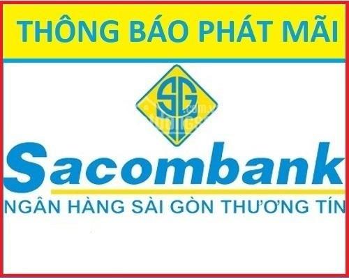 Thông báo SACOMBANK HT phát mãi 29 nền đất thổ cư khu vực TP. HCM,cam kết SHR