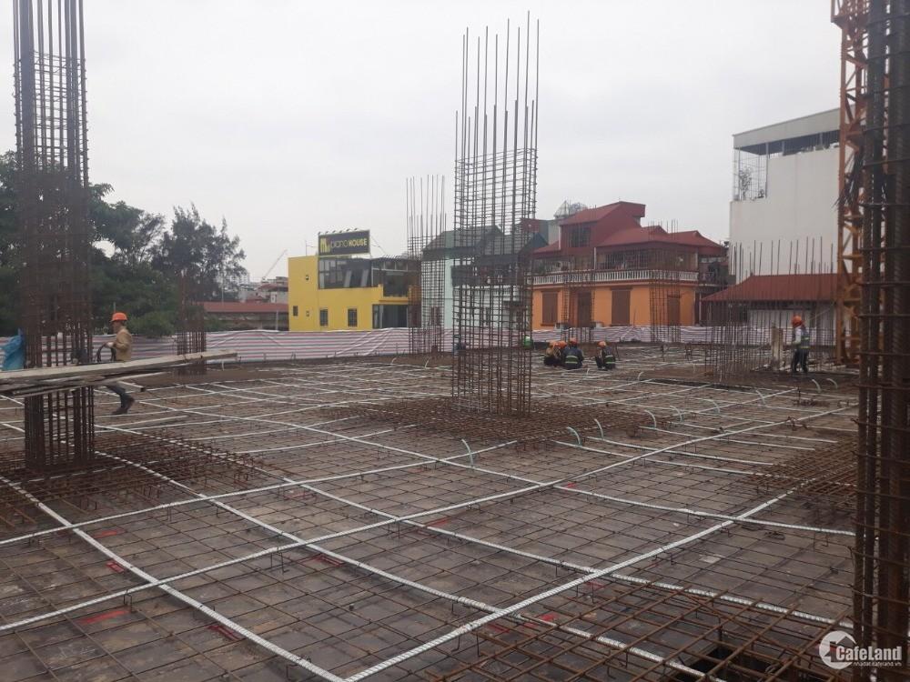 Cho thuê sàn thương mại tầng một chung cư mặt phố Chùa Láng, Đống Đa 500m2