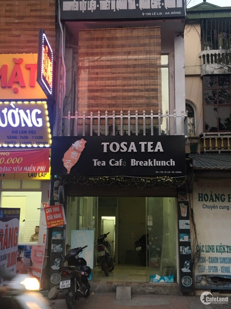 Cho thuê cửa hàng kinh doanh mặt phố Lê Lợi, Hà Đông, Hà Nội